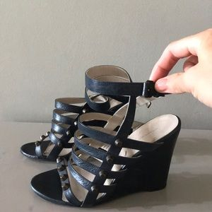 Balenciaga Strappy Wedges